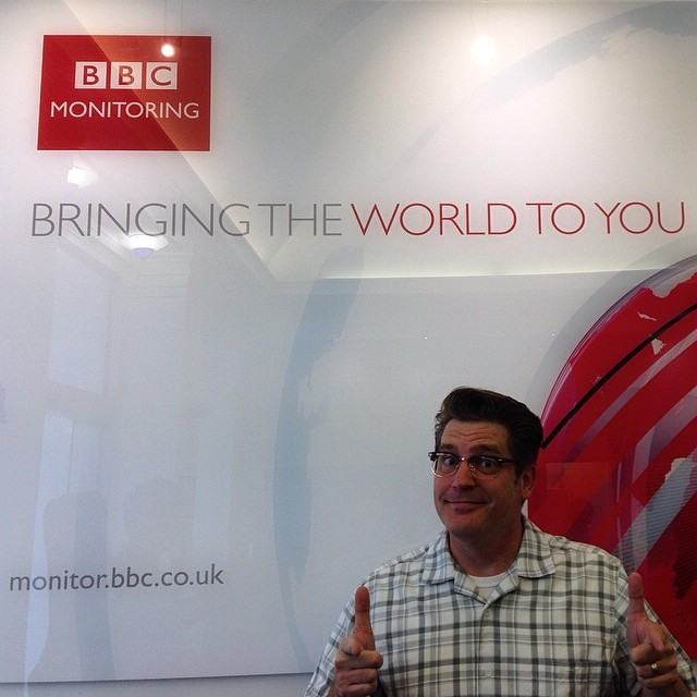 Antsy McClain at the BBC