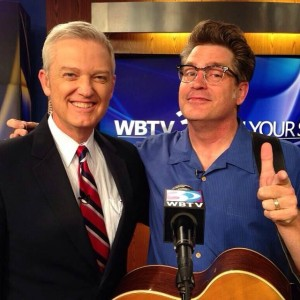 Hanging with WBTV's John Carter before the taping