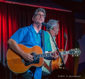 Antsy and Tommy on stage in Annapolis (photo courtesy of