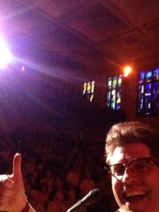 The Audience at the Sheldon was great