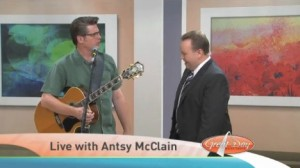 Antsy on Great Day St. Louis  at KMOV TV in St. Louis
