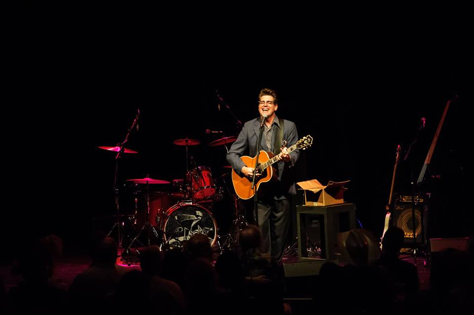 Performing Solo Set in Sellersville. (photo courtesy of Jeff Gray)