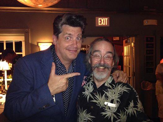 Hanging with Steve LaSala (courtesy of Steve LaSala)