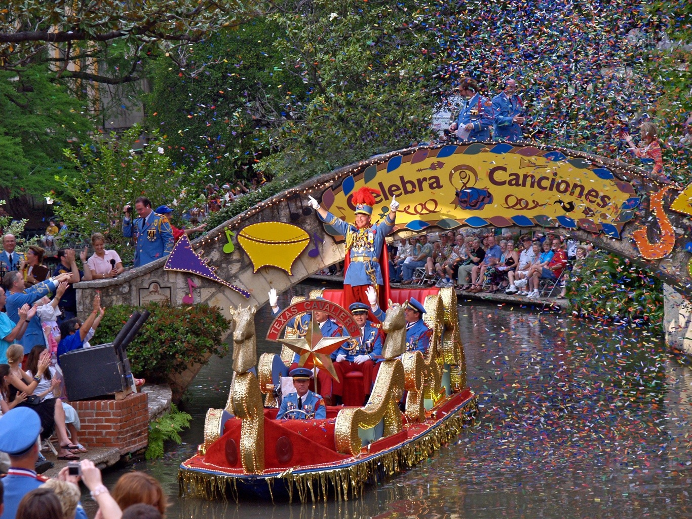 City Of San Antonio Fiesta Celebration Antsy Mcclain